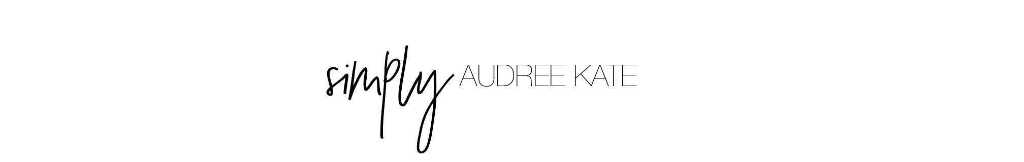 Simply Audree Kate